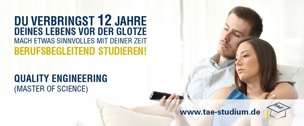 Quality Engineering (Master of Science) studieren